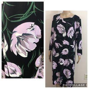 🆕 Ann Taylor Floral Print Knot Dress
